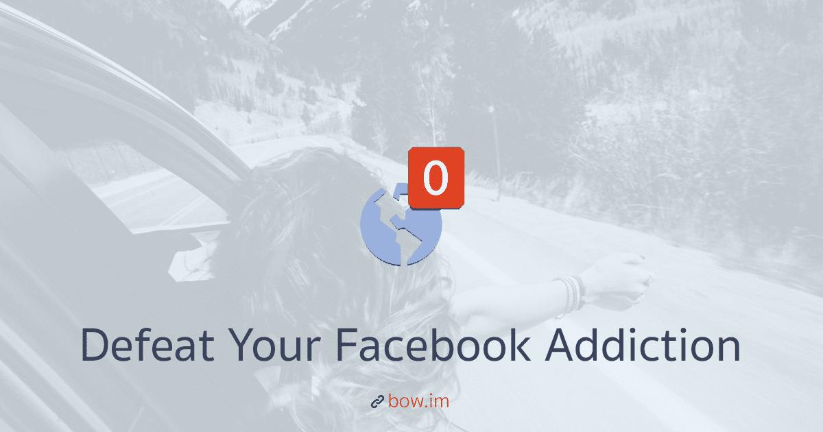 ทำไมเราถึงติด Facebook? ภารกิจทวงเวลาคืนจากพี่มาร์คในไม่กี่คลิก