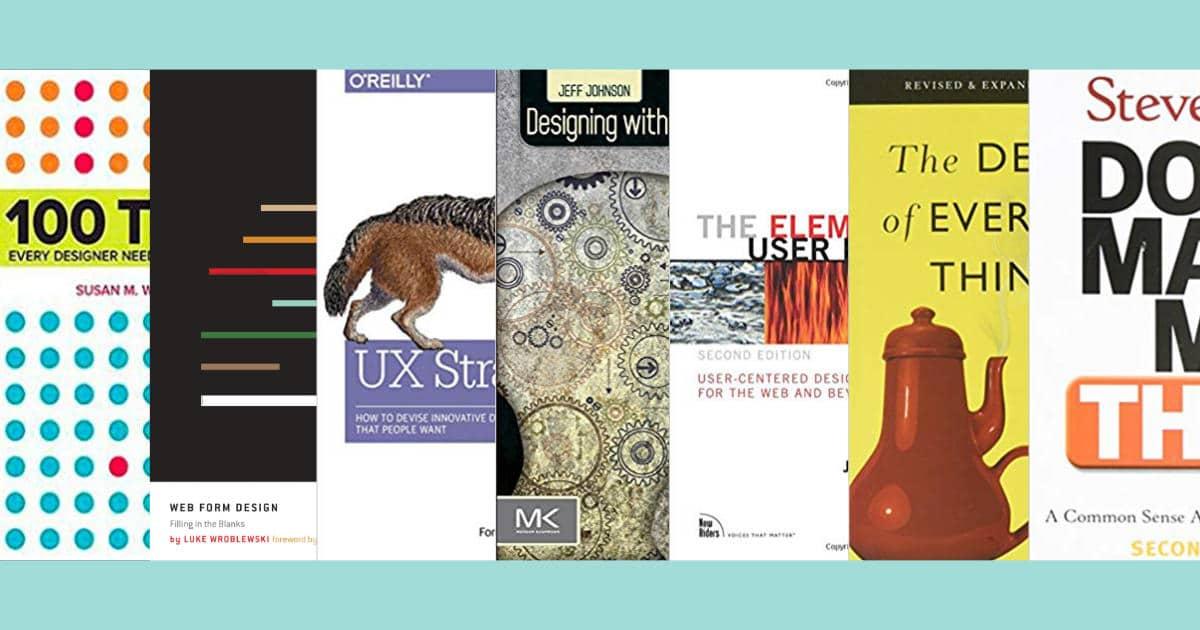 7 หนังสือ UX แนะนำ